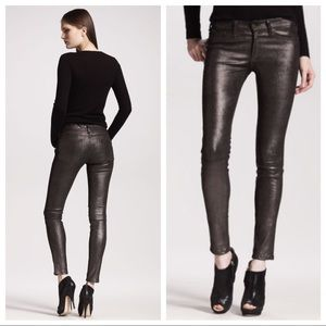 Rag & Bone leather jeans NWT